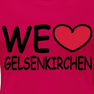 we ♥ Gelsenkirchen Tops - Frauen Premium T-Shirt