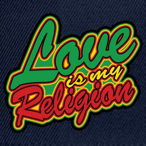 love is my religion Topper - Snapback-caps