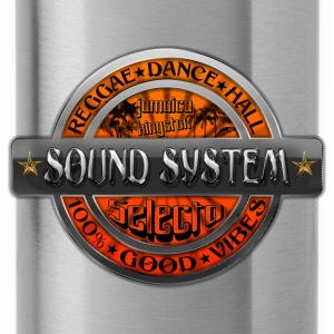 sound system reggae dance hall jamaica Top - Borraccia