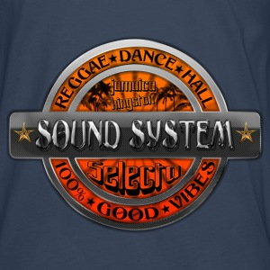 sound system reggae dance hall jamaica Tops - Men's Premium Longsleeve Shirt