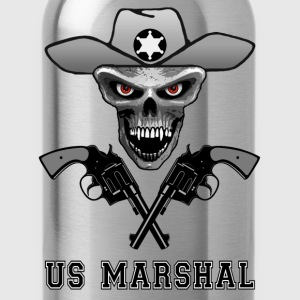 us marshal skull Tee shirts Enfants - Gourde