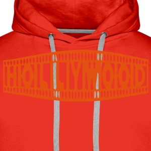 HOLLYWOOD - Sweat-shirt à capuche Premium pour hommes