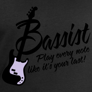 bassist play every note like its your last T-shirts - Mannen sweatshirt van Stanley & Stella