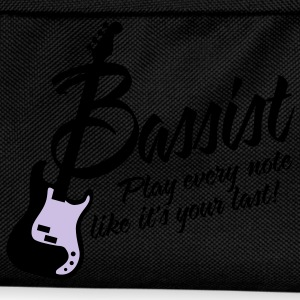 bassist play every note like its your last T-shirts - Rugzak voor kinderen