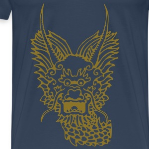 chinese new year of dragon - Men's Premium T-Shirt