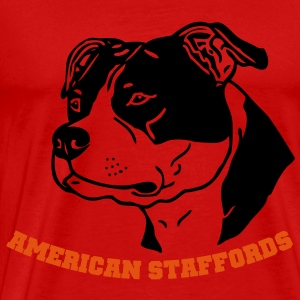 american_stafford_2_2 Tops - Men's Premium T-Shirt