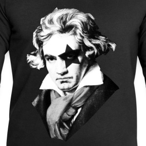 Beethoven rock Kiss Black Metal Tee shirts - Sweat-shirt Homme Stanley & Stella