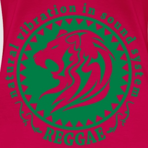 natural vibration in sound system reggae Tops - Vrouwen Premium T-shirt