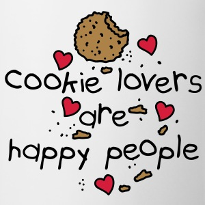 cookies lovers are happy people Débardeurs - Tasse
