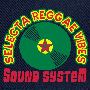 selecta reggae vibes sound system Tops - Snapback Cap