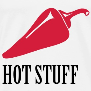 Hot Stuff, Chilli, Chili - Men's Premium T-Shirt