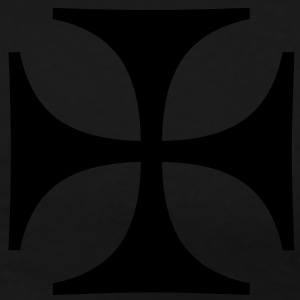 Iron Cross Eisernes Kreuz Outlaw Oldschool Tattoo Biker Motorradclub T-Shirts - Men's Premium T-Shirt