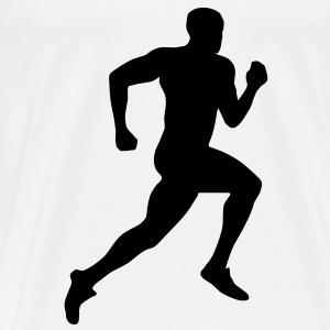 Sprinter, Running T-Shirts - Men's Premium T-Shirt