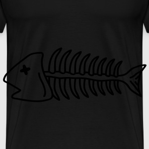 death_fish T-Shirts - Men's Premium T-Shirt