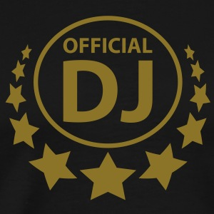 official_dj T-skjorter - Premium T-skjorte for menn