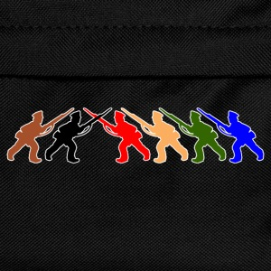 digital - tabletop games soldier soldat fair play world war camouflage T-Shirts - Kids' Backpack