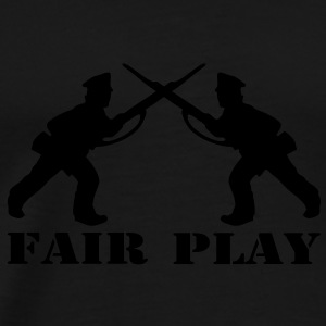 1 col - tabletop games soldier soldat fair play world war camouflage Tops - Men's Premium T-Shirt