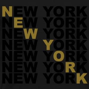 new_york Topper - Premium T-skjorte for menn