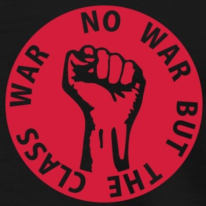 1 color - no war but the class war - against capitalism working class war revolution Tops - Männer Premium T-Shirt
