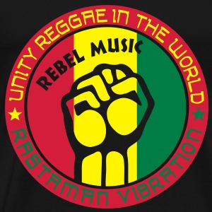 unity reggae in the world Tops - Men's Premium T-Shirt
