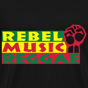 rebel music reggae Tops - Mannen Premium T-shirt