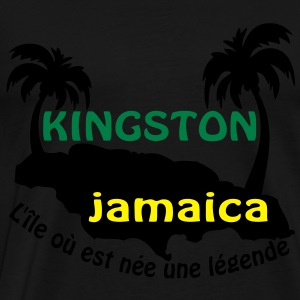 kingston jamaica Tops - Men's Premium T-Shirt