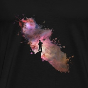 Starry universe painter Supernova Stars 01 Tops - Men's Premium T-Shirt