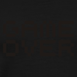 Game over / game over pixels Tops - Männer Premium T-Shirt