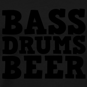 Bass Drums and Beer T-shirts - Premium-T-shirt herr