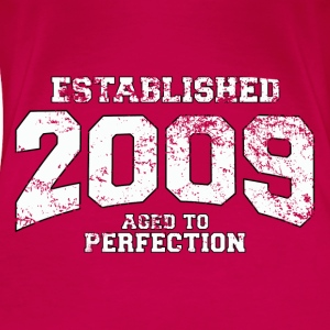 established 2009 - aged to perfection (uk) Tops - Women's Premium T-Shirt