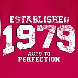 established 1979 - aged to perfection (uk) Tops - Women's Premium T-Shirt