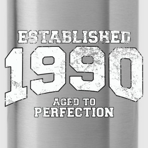 established 1990 - aged to perfection (nl) Tops - Drinkfles