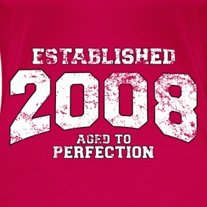 established 2008 - aged to perfection (uk) Tops - Women's Premium T-Shirt