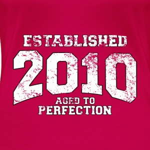 established 2010 - aged to perfection (uk) Tops - Women's Premium T-Shirt