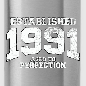 established 1991 - aged to perfection (nl) Tops - Drinkfles