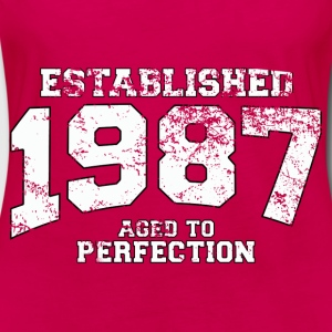 established 1987 - aged to perfection (uk) Tops - Women's Premium Longsleeve Shirt