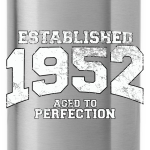 Geburtstag - established 1952 - aged to perfection - Trinkflasche
