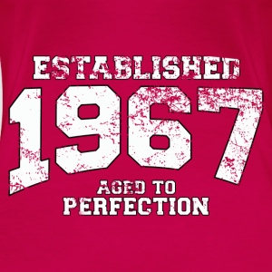 established 1967 - aged to perfection (uk) Tops - Women's Premium T-Shirt