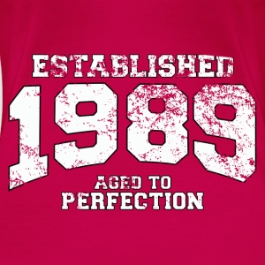 established 1989 - aged to perfection (nl) Tops - Vrouwen Premium T-shirt