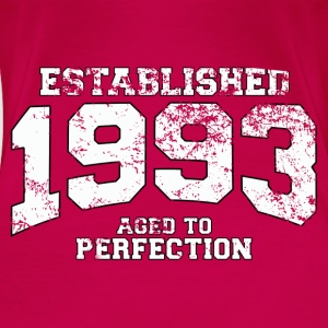 Geburtstag - established 1993 - aged to perfection - Frauen Premium T-Shirt