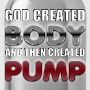 God Created Body Pump T-Shirts - Water Bottle