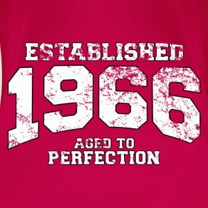 Geburtstag - established 1966 - aged to perfection - Frauen Premium T-Shirt