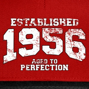 Geburtstag - established 1956 - aged to perfection - Snapback Cap