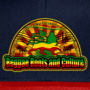reggae roots and culture easy skanking Tops - Snapback Cap