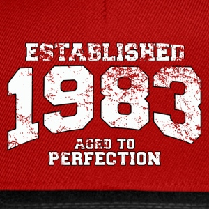 Geburtstag - established 1983 - aged to perfection - Snapback Cap