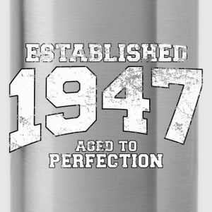 established 1947 - aged to perfection (nl) Tops - Drinkfles