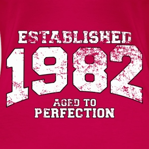 established 1982 - aged to perfection (uk) Tops - Women's Premium T-Shirt