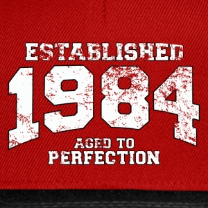 Geburtstag - established 1984 - aged to perfection - Snapback Cap