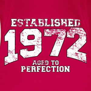 established 1972 - aged to perfection (fr) Débardeurs - T-shirt Premium Femme