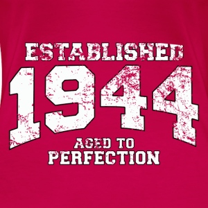 established 1944 - aged to perfection (uk) Tops - Women's Premium T-Shirt